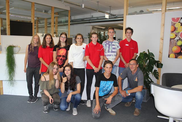 Das Lehrlingsteam 2017